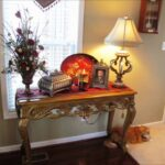 stunning entryway accent table with best foyer decor ideas decorating gallery lamp shades plus patio umbrellas vita silvia quilted runners and placemats threshold between carpet 150x150