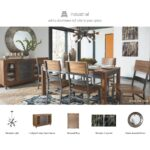 style home furnishings decor ashley furniture dining table accents industrial kitchen and mixed material accent affordable linens living room sofa sets pieces black silver end 150x150