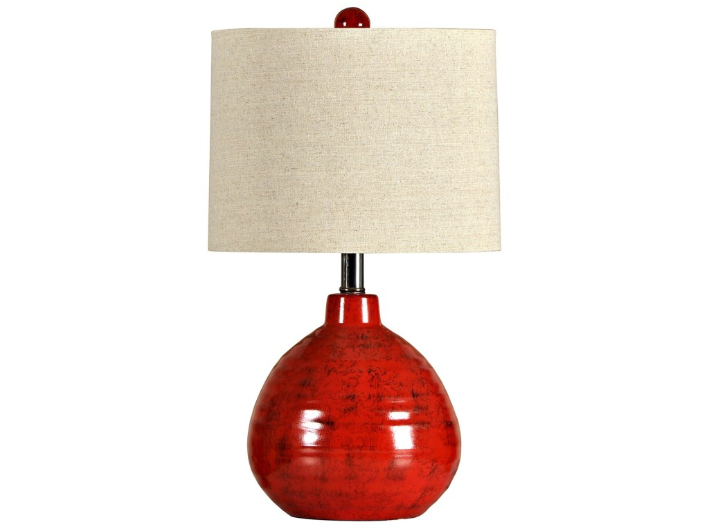stylecraft lamps accent apple red ceramic table lamp westrich products color style craft glass over the couch home decor inspiration tall white bedside lewis wood tool cabinet