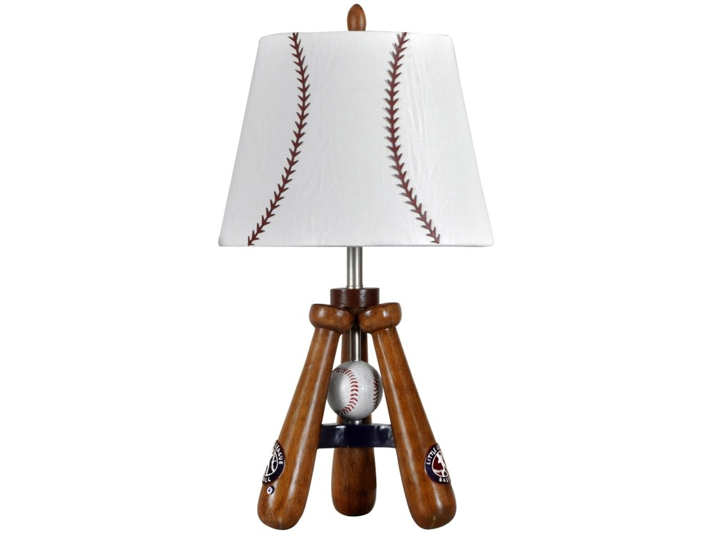 stylecraft lamps little league tri pod baseball bats accent products color style craft table lamp hudson furniture small phone tables for living room square mosaic cherry wood