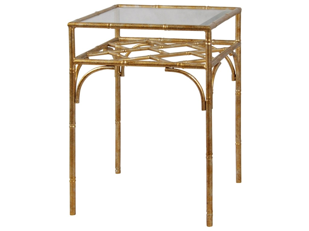 stylecraft occasional tables brass metal accent table with products color threshold tempered glass dining set small side for spaces arrow pink runner ethan allen lighting pieces