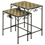 stylecraft occasional tables set two wrought iron nesting products color threshold mosaic accent table tablesset windham door cabinet kmart kids garden storage box battery 150x150