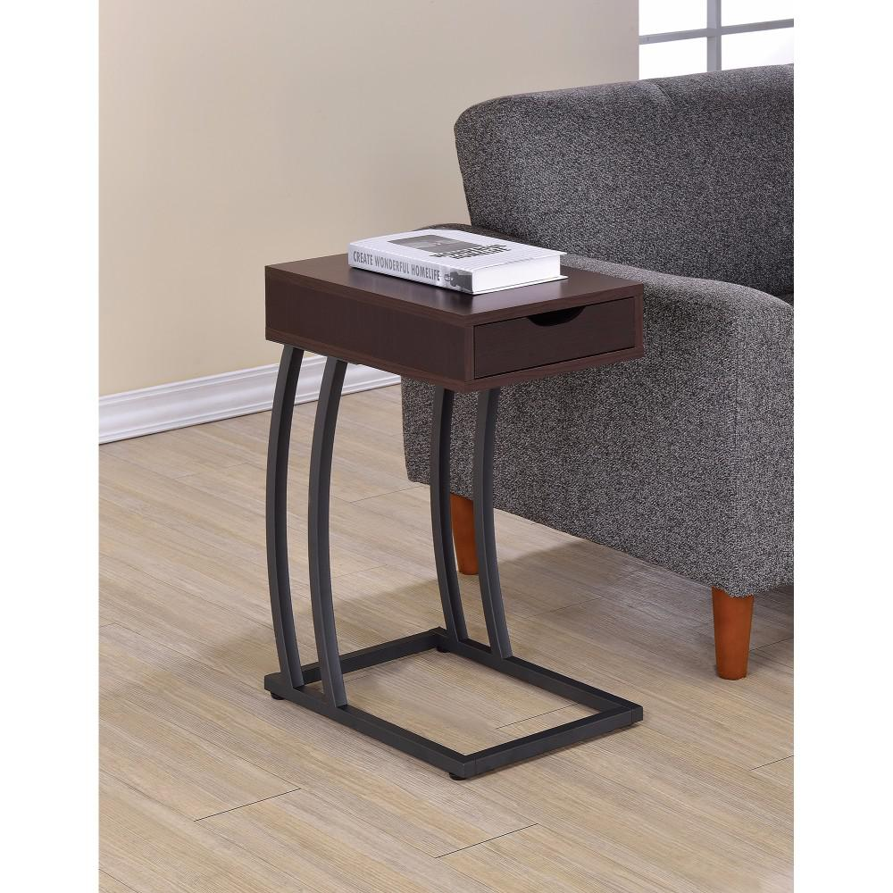 stylish accent table with storage drawer and brown unfinished dining legs pier one chairs marble top round patio umbrella side wicker end tables outdoor cover bedside charging