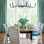 stylish dining room decorating ideas southern living coastal lowcountry corner accent table for glass lamps cotton napkins round with white tablecloth threshold drawer metal side 150x150