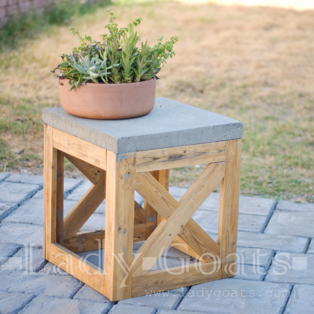 stylish diy side tables perfect for your home garden resin lady goats stool table outdoor antique pedestal end target brass lamp coffee and square farmhouse dining plant holder