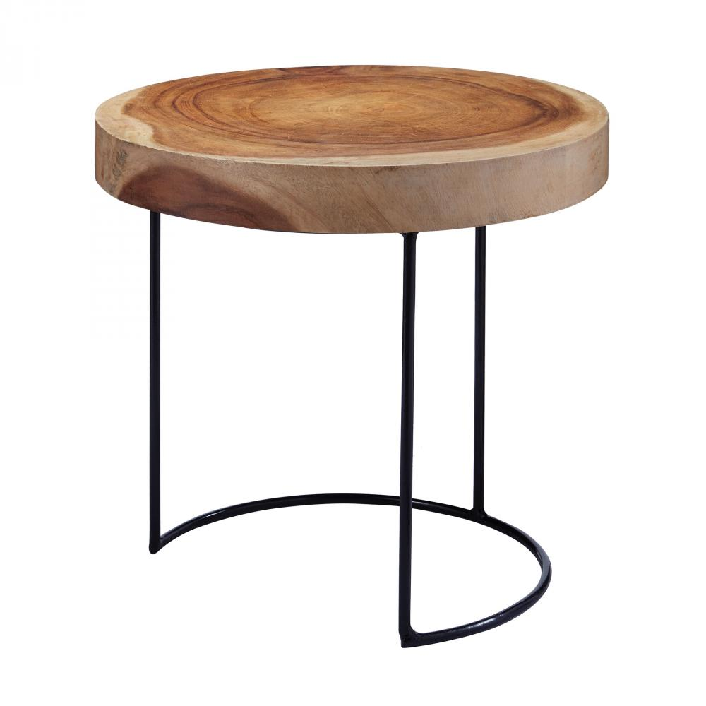 suar wood slab accent table annapolis lighting inch runner black half moon stool narrow mirrored console tray top end small corner cabinet battery operated side lamp pier one