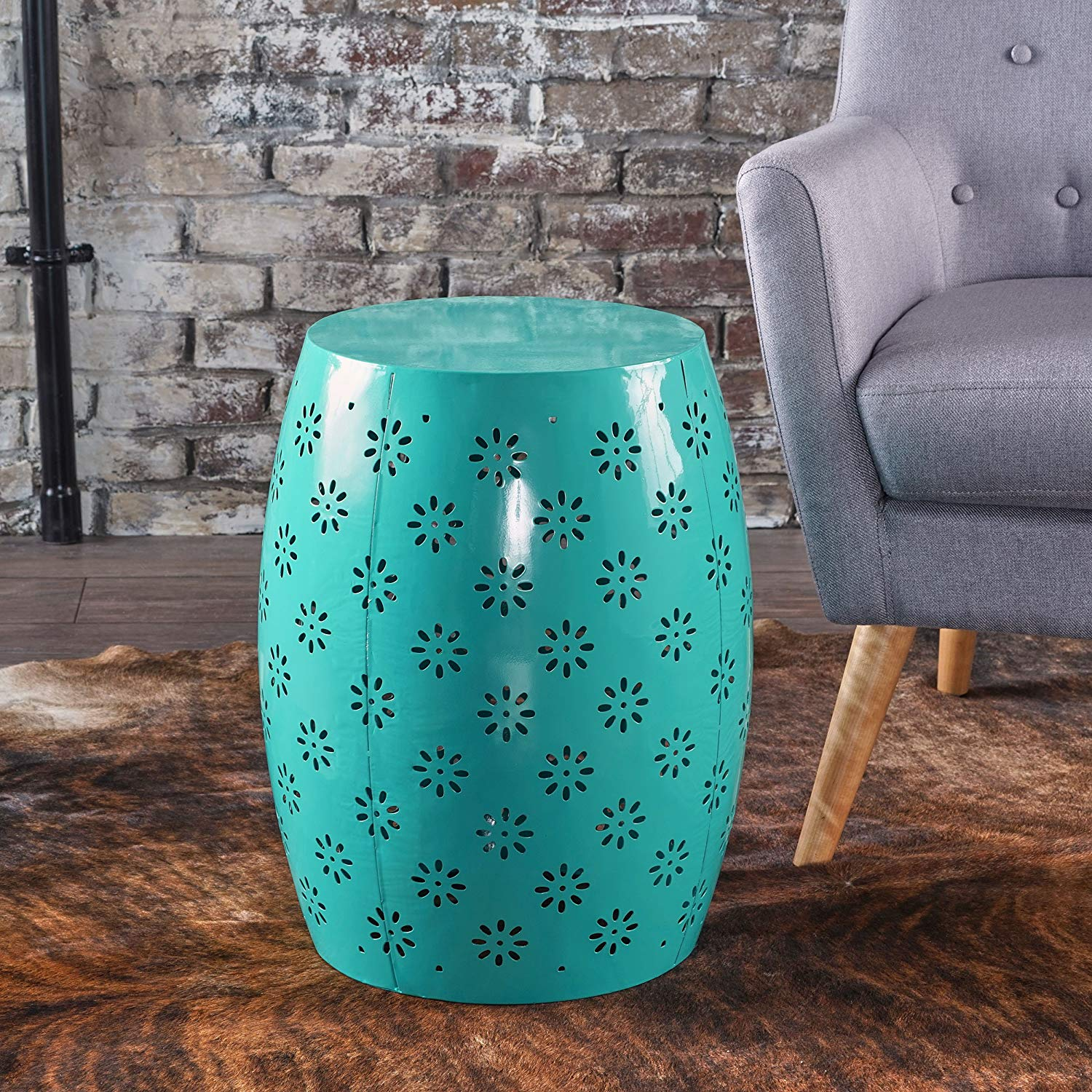 sulah side accent table lace cut design teal bfwahlul garden outdoor drop leaf dining room laminate paint turquoise sofa west elm arc lamp cherry kitchen and chairs rustic gray