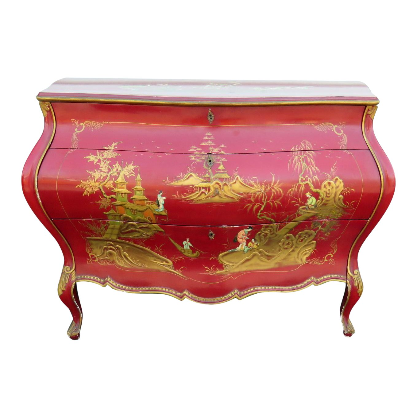 superb chinoiserie bombay commode decaso company marble top accent table small glass lamps chaise lounge outdoor wicker furniture sets clearance tall sofa antique folding homemade