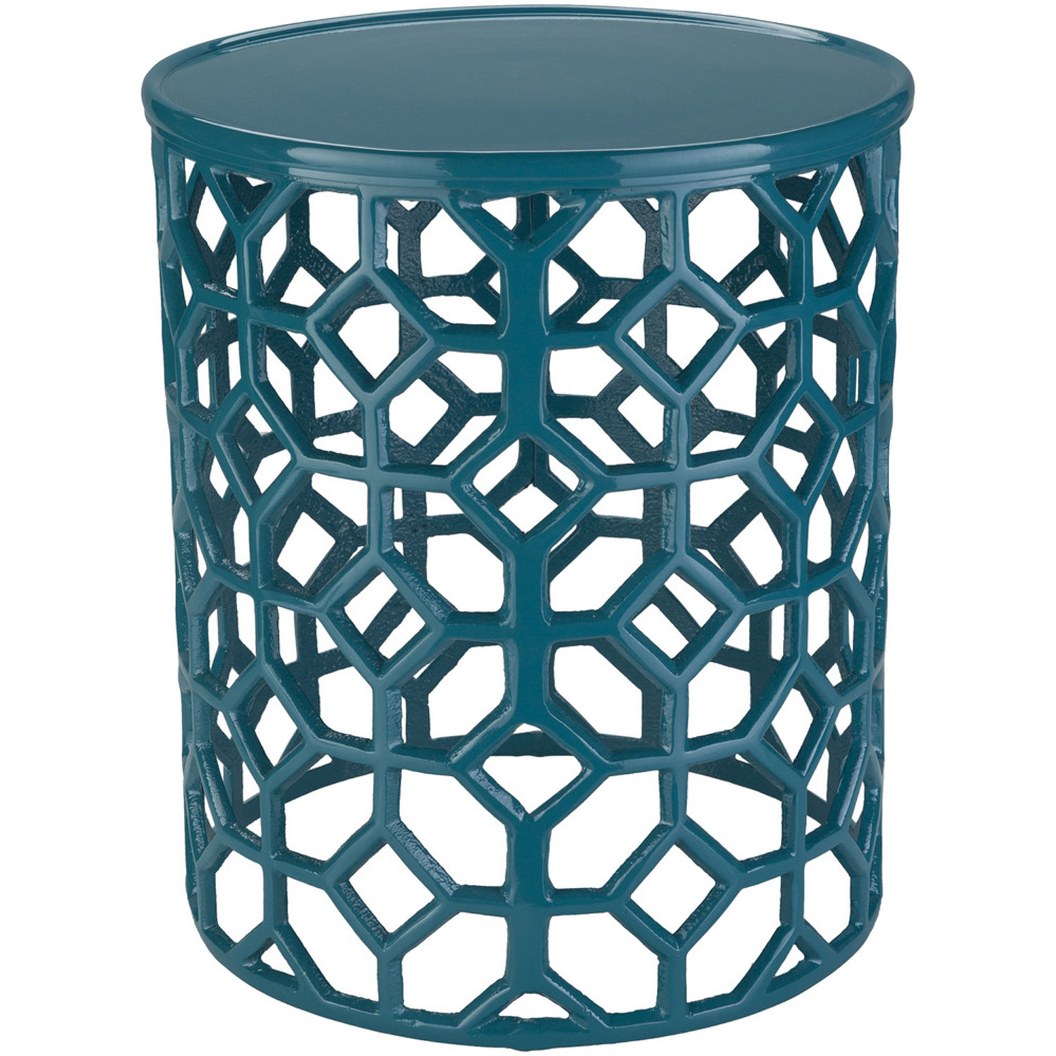 surya hale blue accent table bellacor teal hover zoom round silver mirror counter height dining chairs tiffany floor lamp clearance and white umbrella piece patio set ikea storage