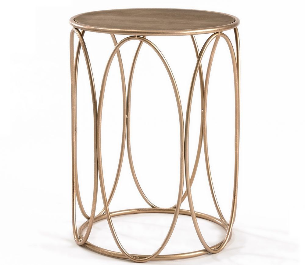 sweet and shiny rose gold here stay nursery ideas accent end table cement outdoor dining small round metal patio razer ouroboros elite ethan allen pineapple nic home goods chairs