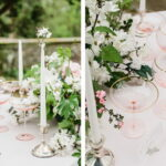 sweetheart table ideas for every season shutterfly classic garden accent your focus runner with white flowers and blush glassware accents weathered wood end outside wall clocks 150x150