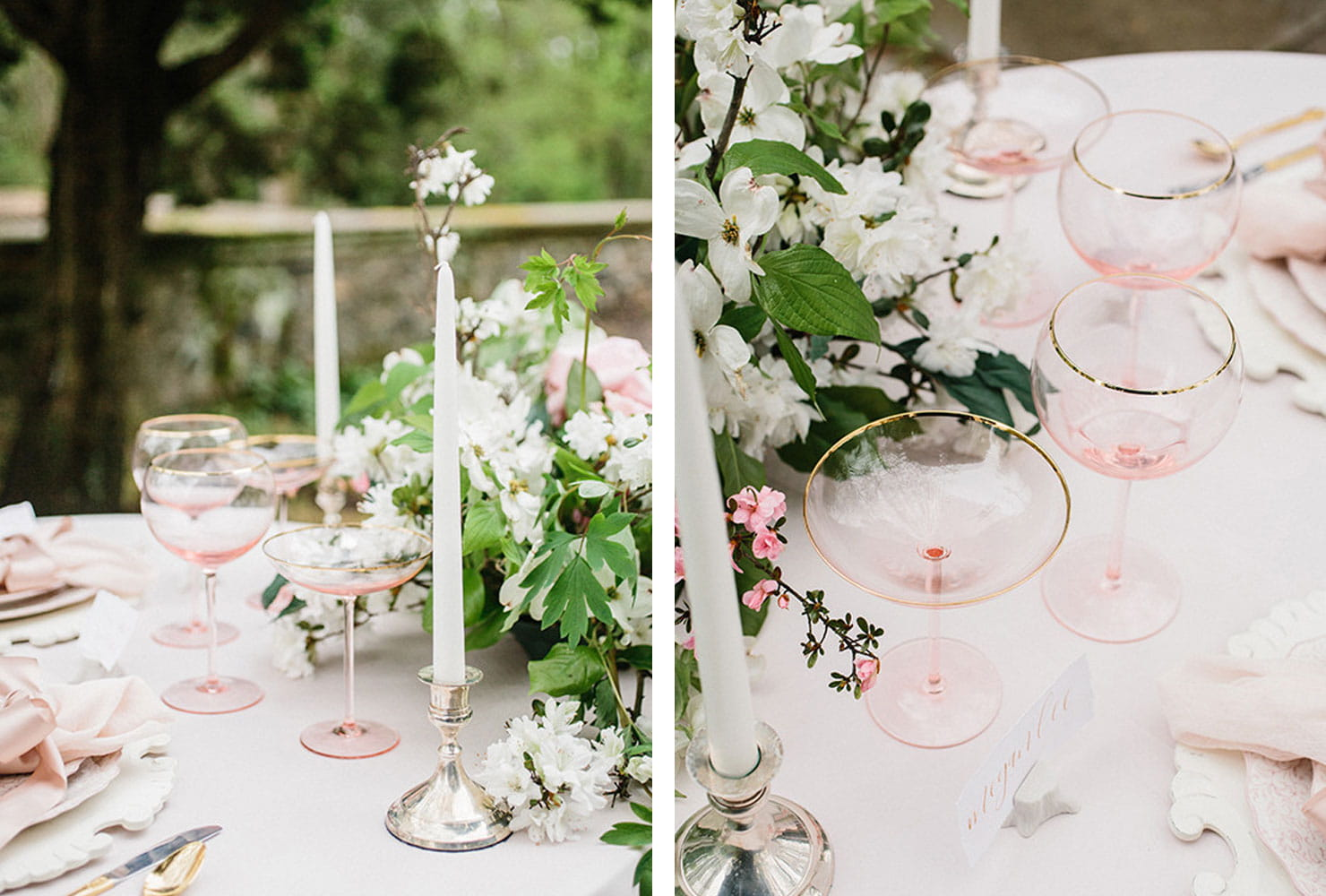 sweetheart table ideas for every season shutterfly classic garden accent your focus runner with white flowers and blush glassware accents weathered wood end outside wall clocks