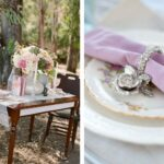 sweetheart table ideas for every season shutterfly enchanted rustic accent your focus runner wooden with white and lilac floral accents target patio coffee green marble top desk 150x150