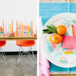 sweetheart table ideas for every season shutterfly modern brightness accent your focus runner with brightly colored candles and chairs clementine accents desk chair target curtain 150x150