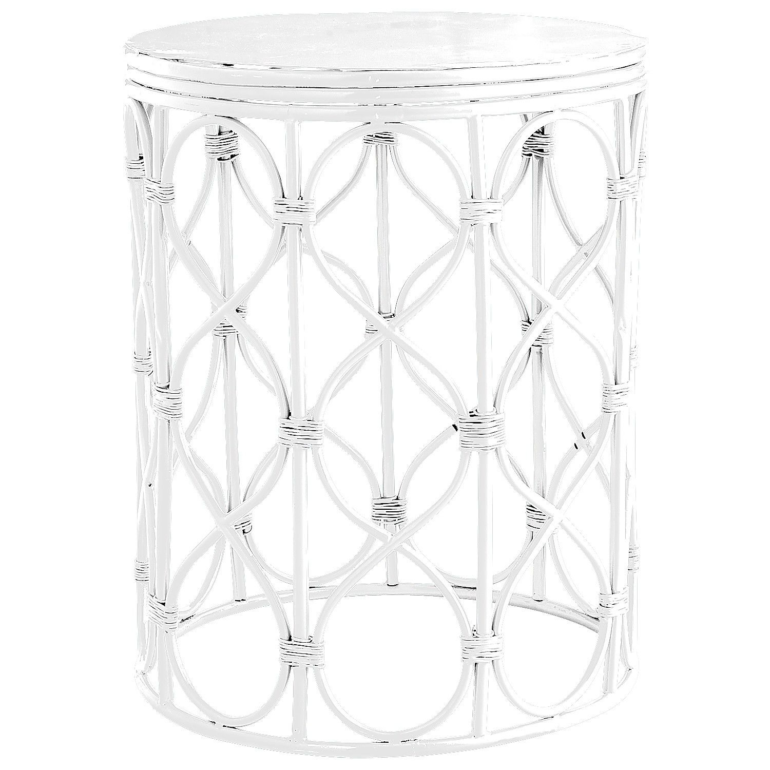 swirl drum accent table white pier imports gorgeous gardens homeware decor concrete small triangle nautical dining room lights chairs set bistro umbrella corner bench wall