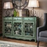 sylvia credenza spring color living room metal accent table bring classic elegance your home with the which perfect for any round covers bedside tables nautical bedroom lamps 150x150