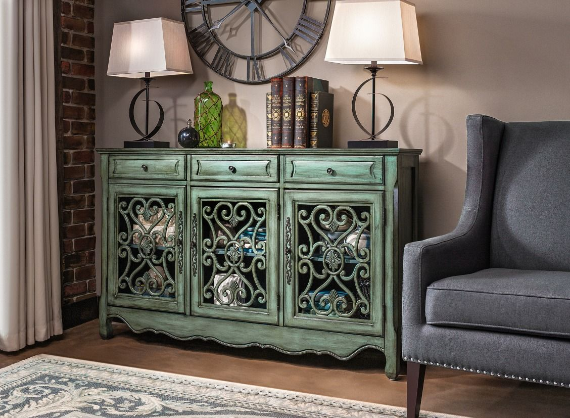 sylvia credenza spring color living room metal accent table bring classic elegance your home with the which perfect for any round covers bedside tables nautical bedroom lamps
