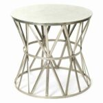 table angle nouveau steel top drum metal open accent side outdoor wichita furniture target kitchen chairs patio dining sets nautical vanity boston abbyson living room cupboard 150x150