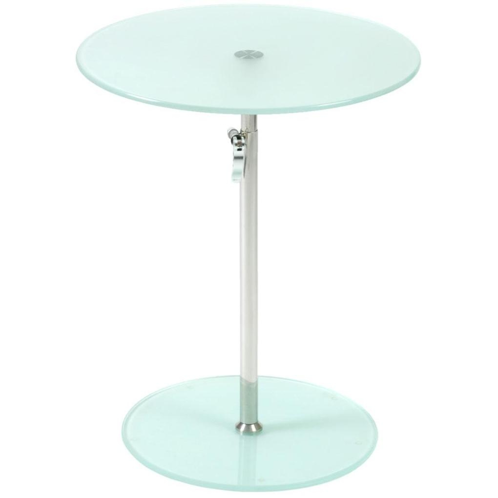 table archaicfair rafaella round glass side frosted chrome accent ideas tables contemporary architecture asian stainless steel regarding plan from black end with lamp attached