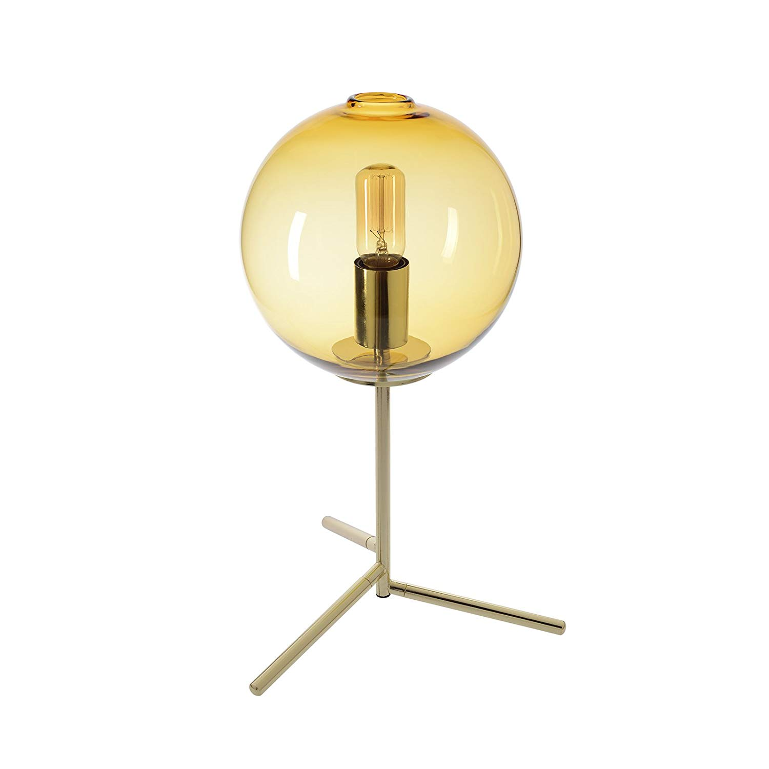 table lamp handblown glass light contemporary decorative uplight accent lamps pedestals best end tables bar height dining set patio with fire pit acrylic cube side square marble