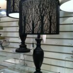 table lamp with tree branch cut outs shade very cool looking accent lighting seattle homegoods bronze side lawn chair umbrella warwick furniture kmart outdoor offset base patio 150x150