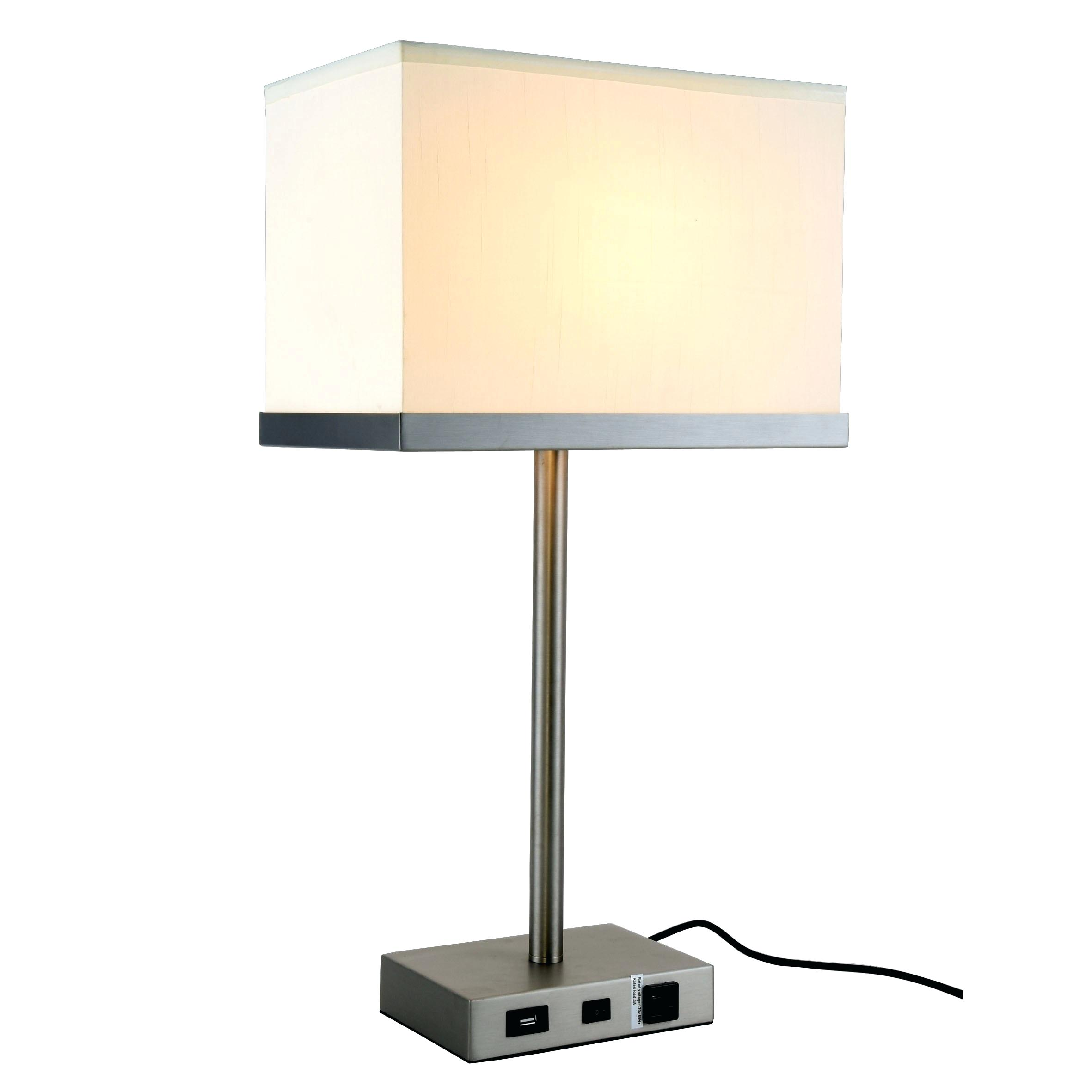 table lamp with usb port dekho collection light vintage nickel finish bronze heyburn brushed steel accent dark grey end tables door fold tiffany buffet long narrow sofa rope