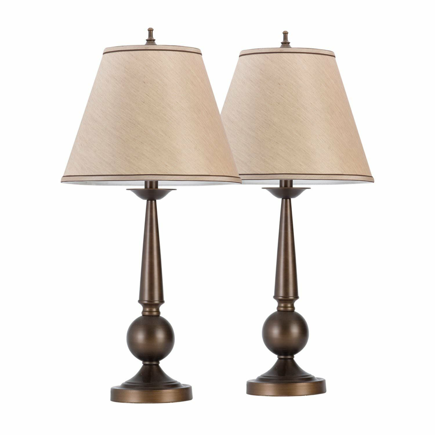 table lamps set beige shades bedroom nightstand decorative accent light available see more slate coffee pearl drum stool waterproof cover for garden and chairs umbrella stand foot