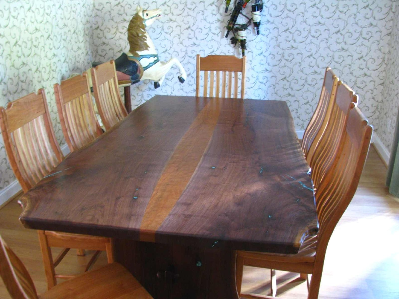 table live cut wood dining edge accent building slab burl coffee full size seater wooden bedside cabinets small mid century door stopper legs and bases parker furniture target