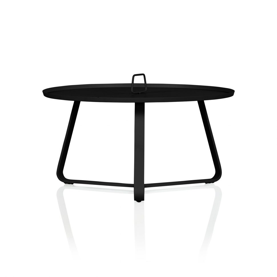 table patio end tables white round outdoor coffee with umbrella hole rectangular small garden side large size corner curio cabinet silver wall clock weatherproof furniture and
