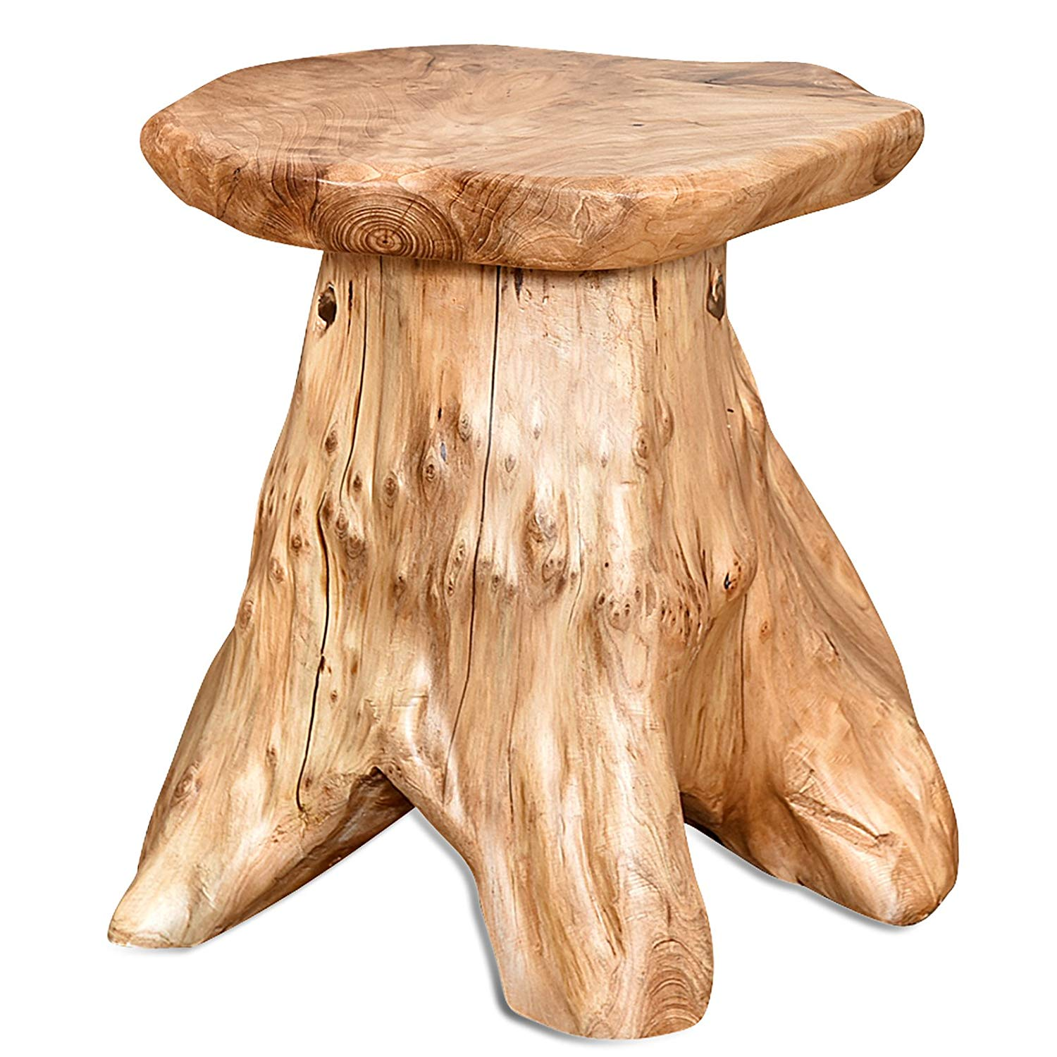 table protector mat the perfect cool wood stump end ideas welland live edge organic cedar stool for indoor mbtl outdoor mushroom garden tree target shaped coffee cherry and tables