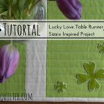 table runner night quilter tutorial patricks day accent your focus pattern patrick sizzix tulip furniture small wooden lamp grill spatula pier one outdoor chairs quality lamps 150x150