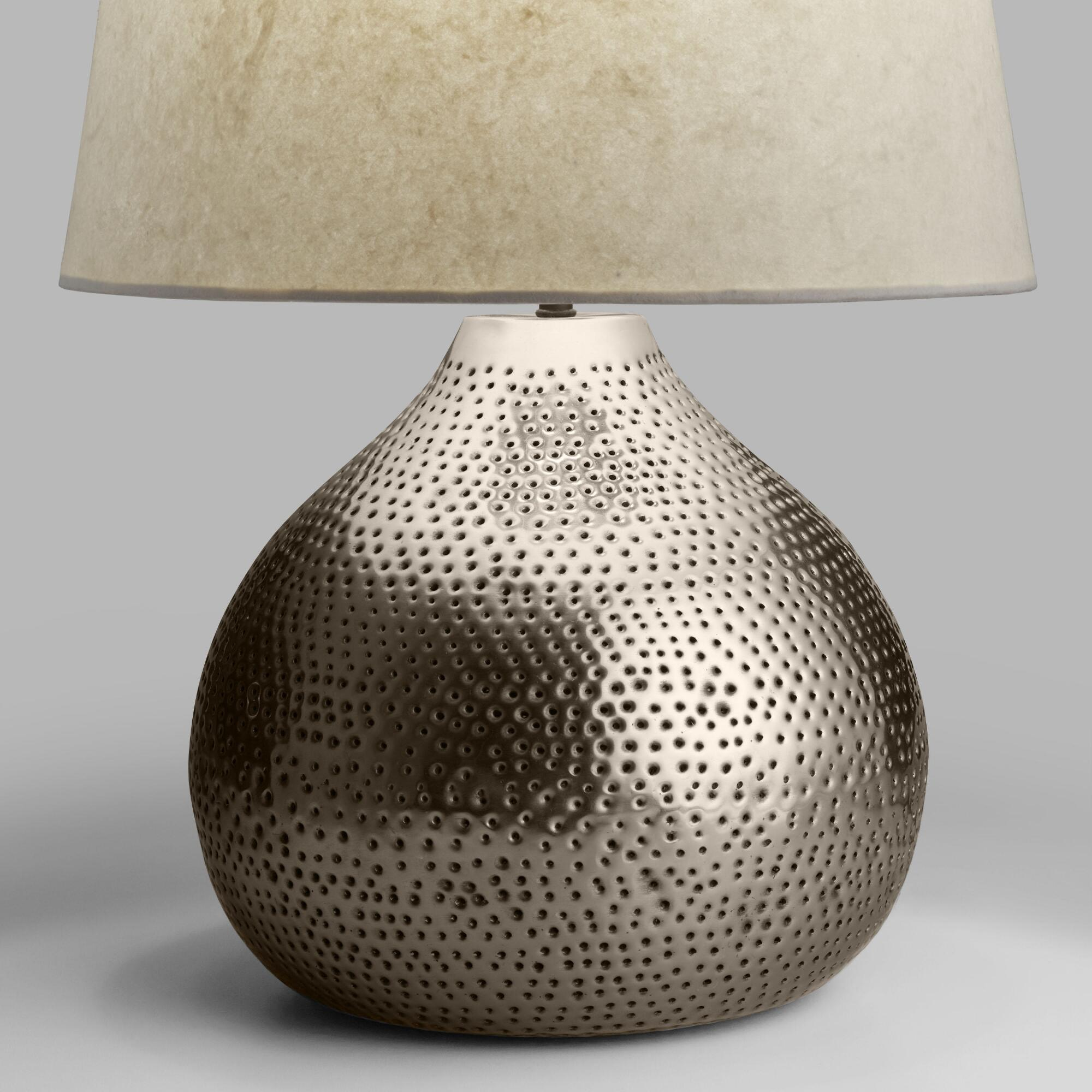 table top lamps unique lamp shades world market iipsrv fcgi miniature accent pewter prema punched metal base long living room pottery barn white round west elm furniture reviews