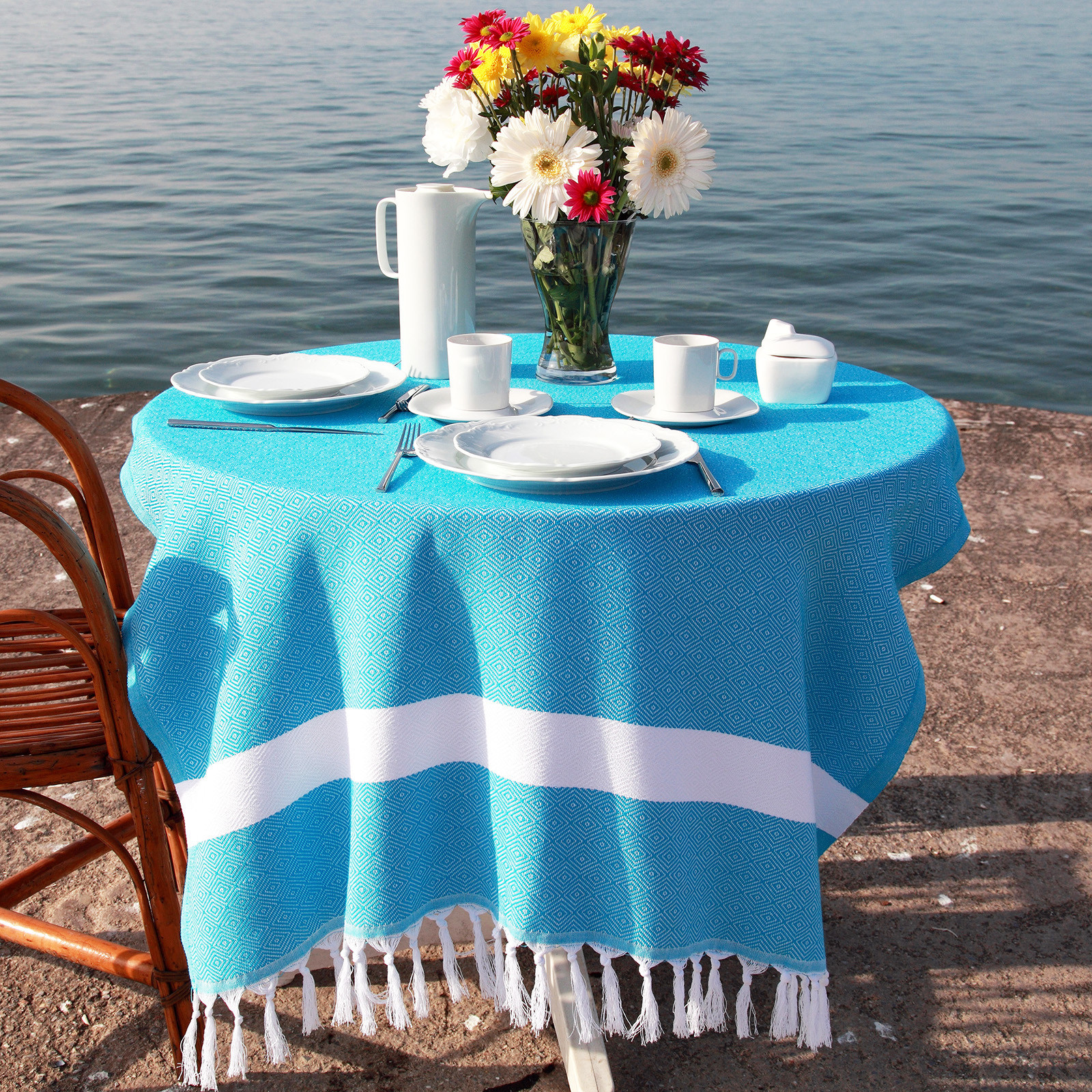 tablecloth size guide pestemal for inch round accent table target vases pub height and chairs mirror side living room rectangle nesting tables wood best furniture chair cushions