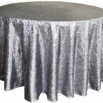 tablecloths burlap bling everything between round sequin taffeta silver tablecloth for inch accent table with pub height and chairs threshold margate bulk tennis balls rectangle 150x150