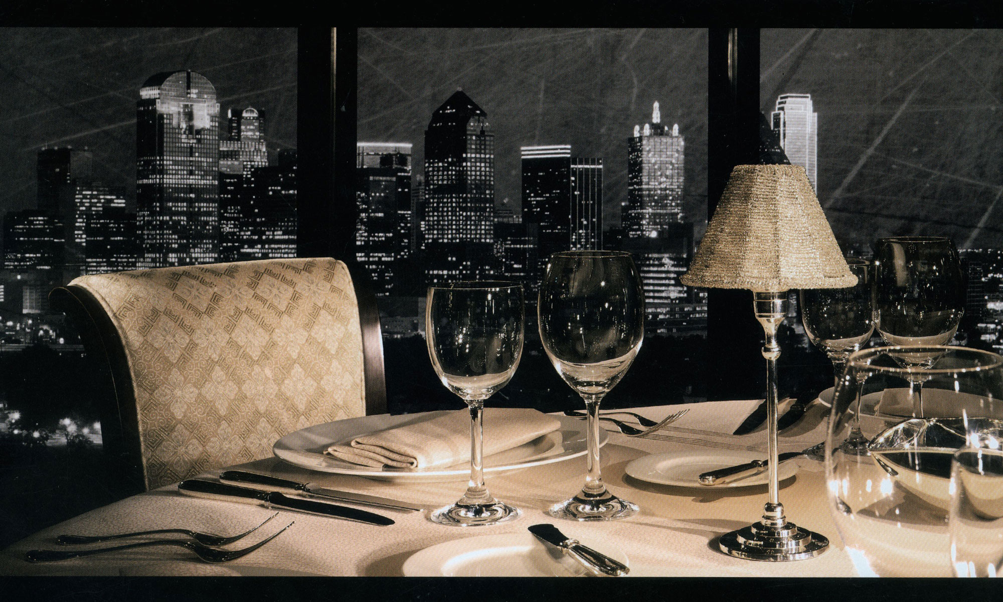 tabledecor restaurant table lighting candle battery lamps operated accent dallas skyline the anatole west elm light bulbs white changing dresser black dining set circle coffee