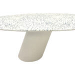 tables bases stools creative concrete furniture fabrication and cantilever oval terrazzo coffee outdoor accent table measuring hobby lobby small metal outside patio chairs soccer 150x150