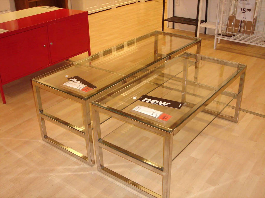 Tables Lucite Coffee Table Ikea Acrylic Best Wooden And ...