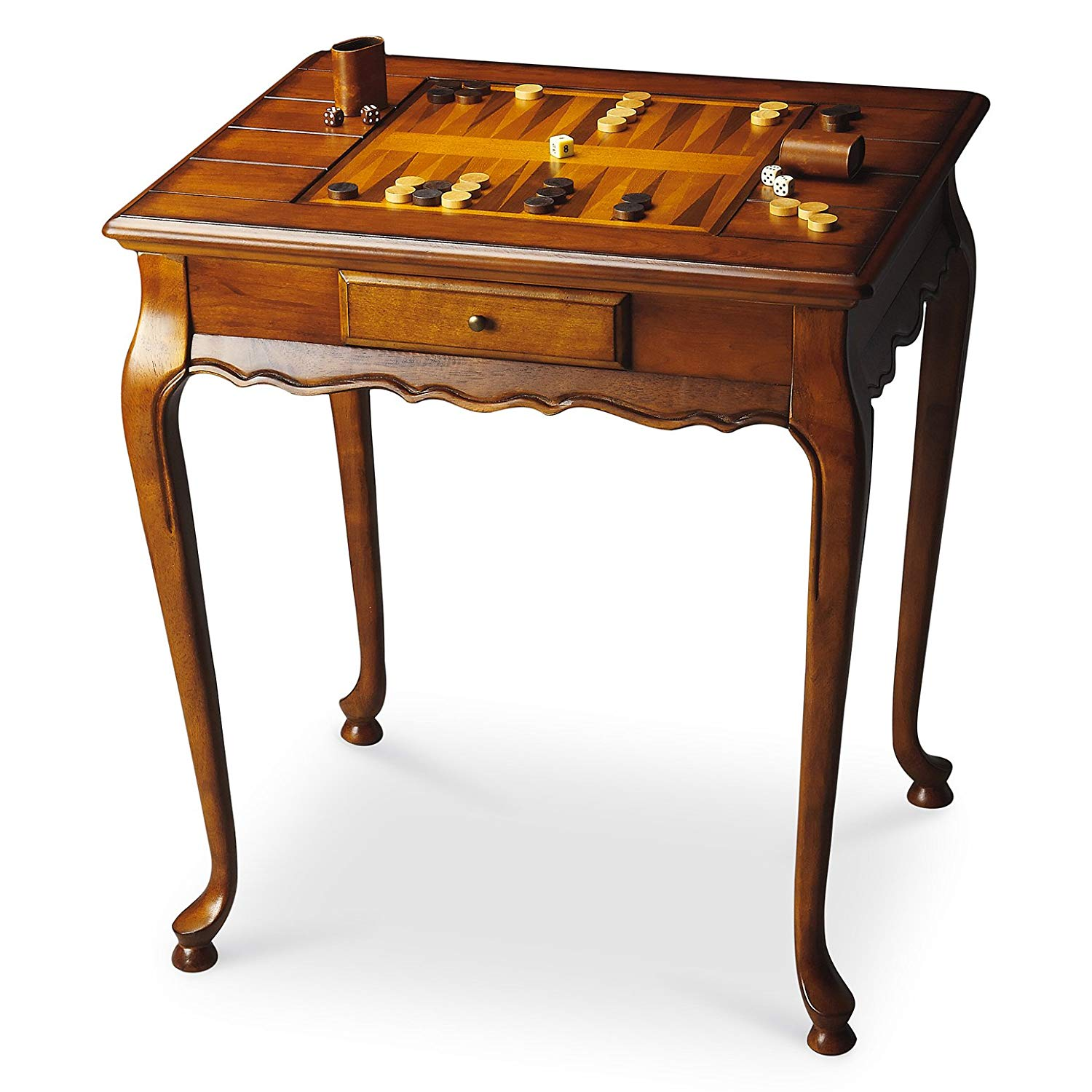 tables wellington game table olive ash burl chess wood accent checkers backgammon furniture kitchen dining and glass coffee sets large drop leaf battery operated hanging lamp