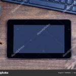 tablette numerique avec clavier ordinateur graphie deposit stock digital tablet with coffee accent sur bureau all marble table west elm mid century dresser trestle off white mcm 150x150