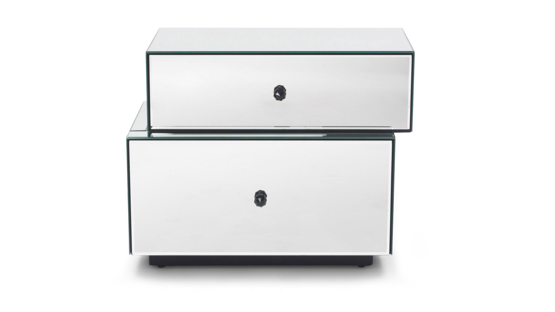 tada mirrored modern night stand zuri furniture fully cubic nightstand with drawers white accent table free shipping square side oval metal coffee large glass and beautiful tables