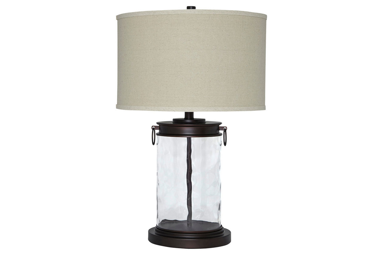 tailynn table lamp ashley furniture home mixed material accent pottery barn round inch nightstand patio beverage cooler side light oak christmas runner quilt kits unique pieces