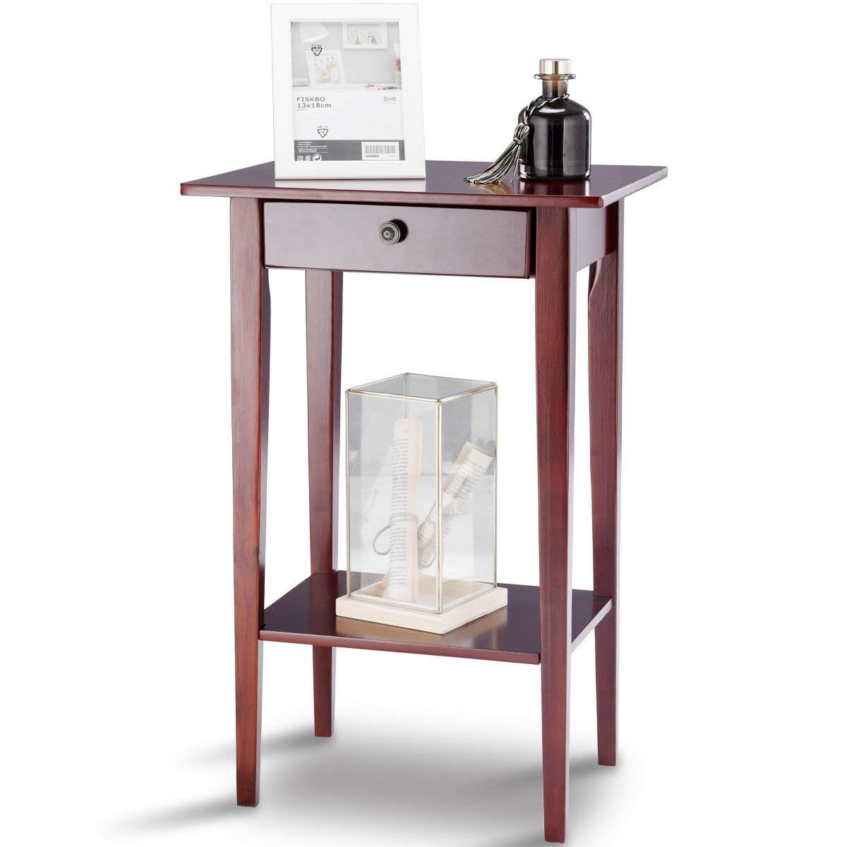tall accent table find line metal get quotations height wood side style telephone stand vintage black lamps rustic weber top furniture brands pulaski display cabinet large crystal