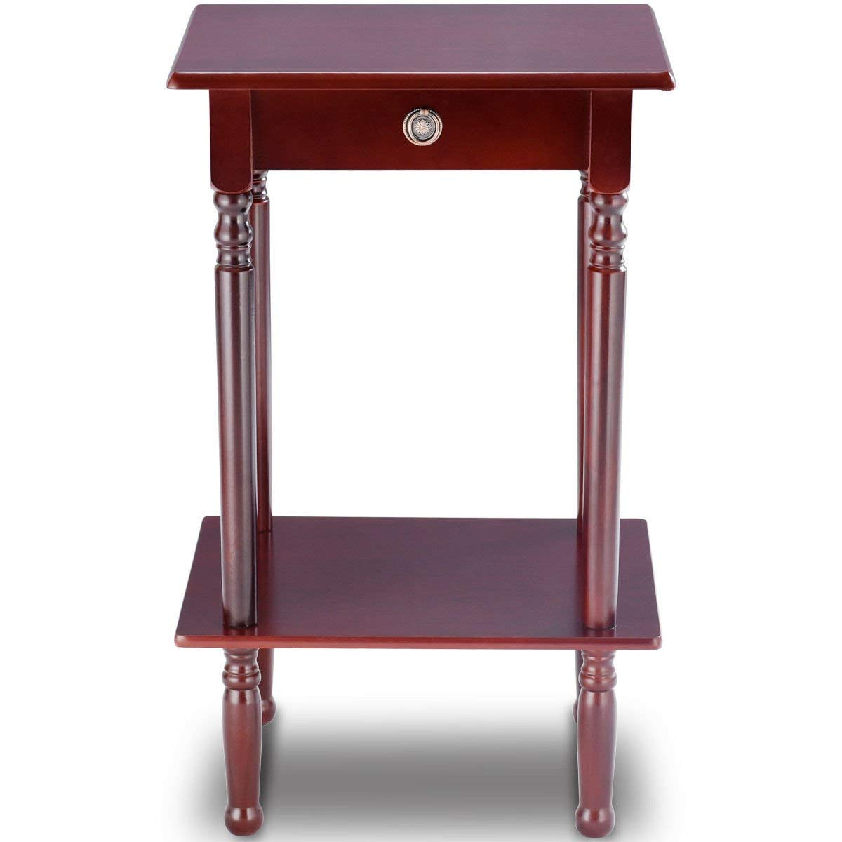 tall accent table find line wood get quotations diamondgift style telephone stand shelf end side threshold margate tables edmonton outdoor top covers sheesham coffee accessories