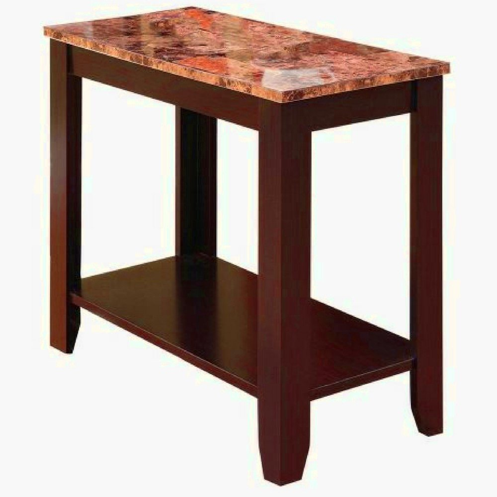 tall accent table find line wood get quotations luxury entryway with marble top and storage shelves espresso wooden narrow side hall carpet joining strip outdoor dining coffee