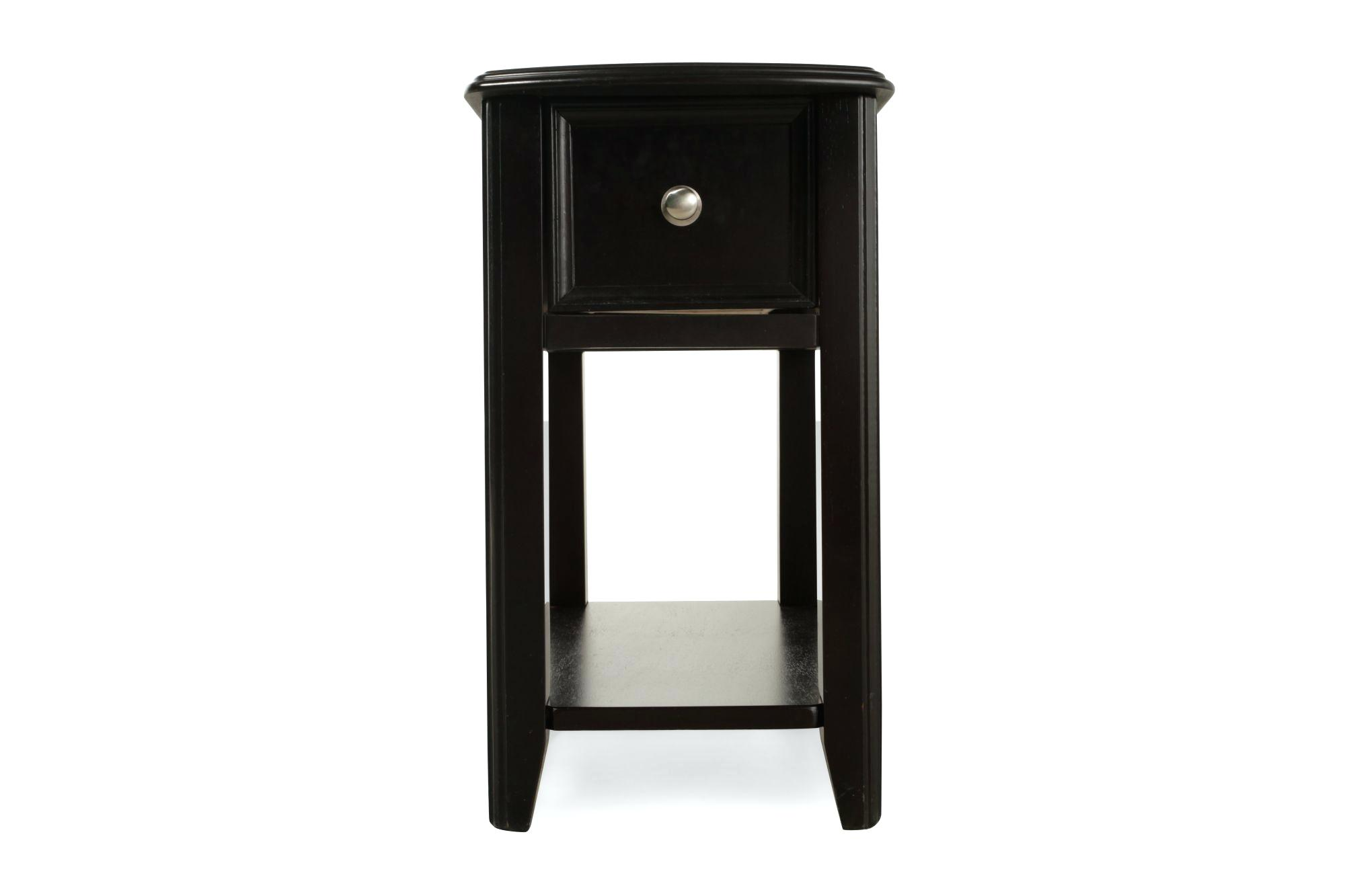 tall accent tables table adjustable side end round open shelf contemporary black slim living room pink tablecloth moon chair target pier one imports clearance furniture white