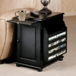 tall black end table ideas tiny round side inch accent with storage wooden lamp tables drawers thin furniture square elegant narrow wood and brown oak for living room white skinny 150x150