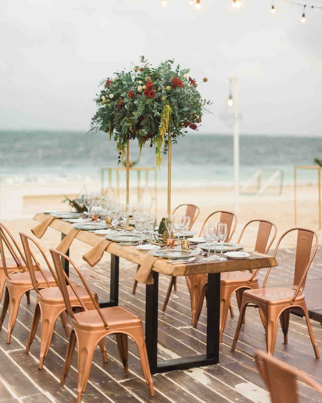 tall centerpieces that will take your reception tables new dawn derbyshire vert chloe accent table heights martha stewart weddings lamp shades for small lamps furniture behind