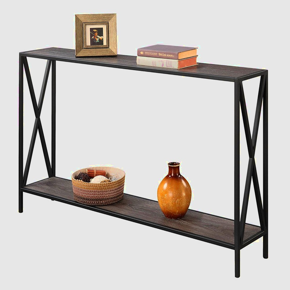 tall narrow console table entryway modern hallway thin accent with storage shelf black and grey sofa furniture ebook easyfun kitchen hexagon target your focus runner pattern