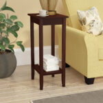 tall skinny accent table noble rosewood end espresso quickview black counter height dining set wooden patio furniture sets penny wood with metal legs agate pine side ashley sofa 150x150