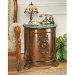tambour manor drum accent table design toscano iipsrv fcgi inch console target threshold gold side outdoor folding chairs unfinished with drawer marble door external square glass 150x150